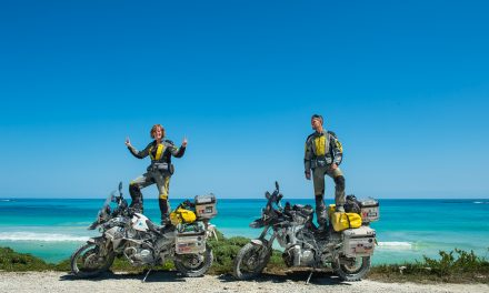 Petra and Anders – Two Bikers One world – MTM14
