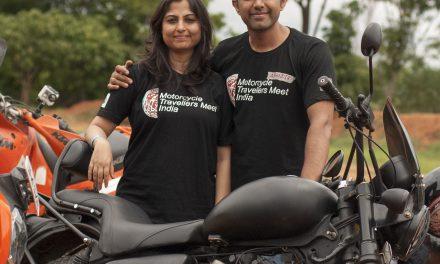 Kavitha and Abhijith – Couple on Wheels  – MTM14
