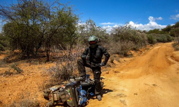 Getting ready to live on a bike-Jay Kannaiyan